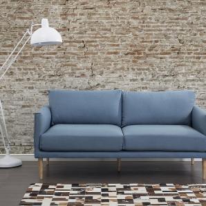 Sofa Polsterbezug blau UPPSALA