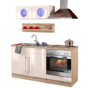 HELD MÖBEL Küchenzeile »Keitum« mit Elektrogeräten, Breit 160 cm