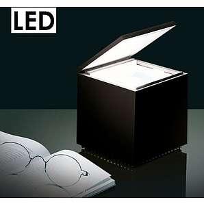 Cini & nils Cuboled Cuboluce LED Deko- Tisch- leuchte schwarz Cubo # 138L design franco bettoncia & mario melocchi 1972
