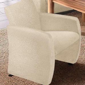 Max Winzer ® Sessel  »Noah«, beige, creme, hoher Sitzkomfort