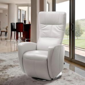 INOSIGN Relaxsessel weiß, inklusive Relaxfunktion, FSC®-zertifiziert
