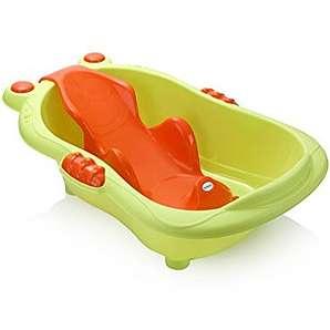 NWYJR Babywanne Baby Badewanne Säugling Duschliege verstellbare Badewanne Support Anti-Rutsch Neugeborenen verdickt sicher und ungiftig , green