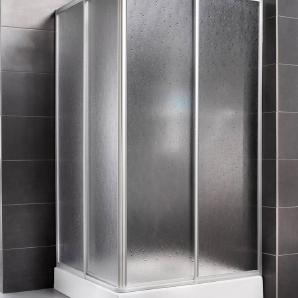 AQUAFORM Eckdusche »Easy«, Verstellbereich von 73 bis 88 cm