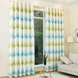 KINLO® 2 Sets 145x245cm Vorhang Blickdicht Aus 100% Polyester  Verdunklungsvorhang TOP Qualität Fenstervorhang Wohnzimmer