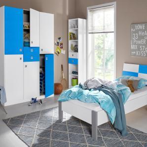 Wimex  Jugendzimmer-Set Split (3-tlg.), blau