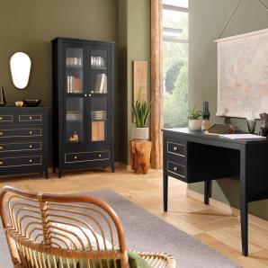 Home Affaire Schublade »Victoria«, schwarz, pflegeleichte Oberfläche