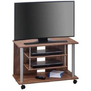 Carryhome: TV-Rack, Alu, Eiche, B/H/T 80 55 40