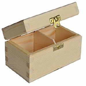 , Holz, Box Tee Tasche Brust 2-fach–Mittelmeer