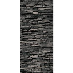 Schulte Duschrückwand Decodesign Dekor Stein Verblender Anthrazit 255 x 100 cm