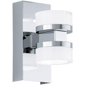 EEK A+, LED-Spiegelleuchte Romendo I - Kunststoff / Stahl - 2-flammig, Eglo