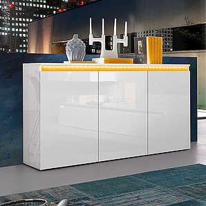 Tecnos Sideboard Breite 130 cm TECNOS weiß