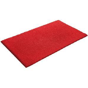 Badteppich Softy - Kunstfaser - Rot - 70 x 120 cm, Esprit Home