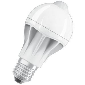 Osram LED MOTION SENSOR CLASSIC A - LED-Lampe, Bewegungssensor »ST CLAS A 60 9 W/827 E27«