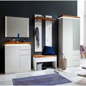 garderobensets in weiss online vergleichen m bel 24. Black Bedroom Furniture Sets. Home Design Ideas