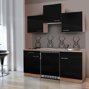 Respekta Miniküche mit E-Geräten, Breite 150 cm