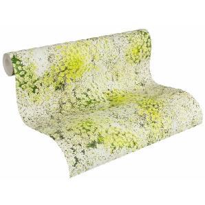 Papiertapete, Livingwalls, »Mustertapete Authentic Walls«, grün-weiß