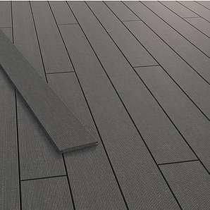 GCC Terrassendiele Living Deck Graphit 300 cm x 16,3 cm x 1,6 cm