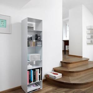 Stehregal U1 Weiß, Designer müller möbelfabrikation, 172.5x34.5x29.5 cm