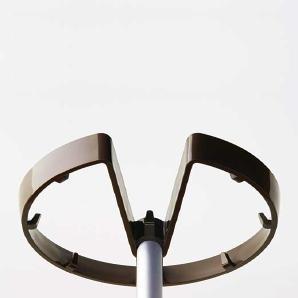 Garderobenständer Hover Braun, Designer Designstudio speziell®, 175 cm