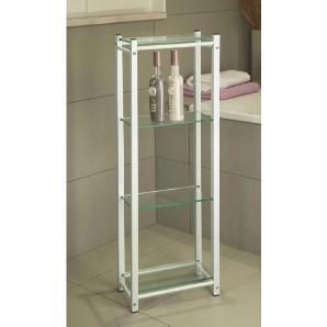 : Badezimmer, Glas, Weiß, B/H/T 30 87 17