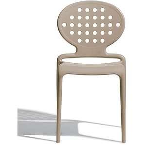 SalesFever Designer Stuhl Stapelstuhl mit runder Rückenlehne »Colette«