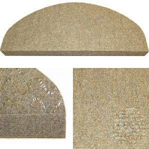 Karat 77 beige, selbstklebender Nadelfilz-Treppenschutz ,vorgeformt, leicht zu verlegen, 15 Stück im Set € 26,85