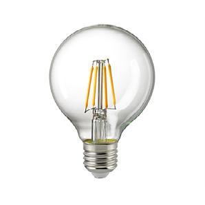 Sigor LED Filament Globe E27 4,5 W, dimmbar, 2700 K,  4,5 W
