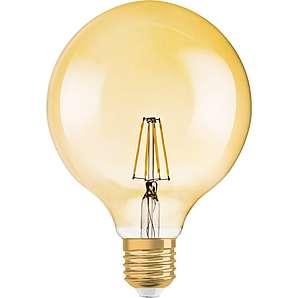 Osram LED-Filament-Leuchtmittel 1906 Globeform E27/7 W (710 lm) Warmweiß EEK: A+