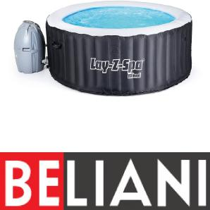 Whirlpool schwarz Outdoor Lay-Z-Spa MIAMI