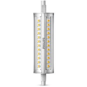 Philips Leuchtmittel LED Stab R7s 14 W, weiß, dimmbar, Länge: 11,8 cm
