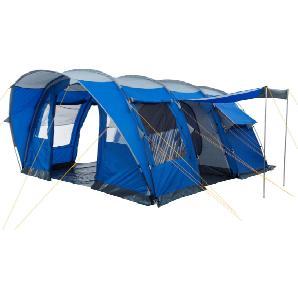 CampFeuer Campingzelt, 5 Personen Tunnelzelt, 3000 mm, Familienzelt