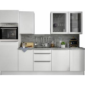 S+ by Störmer Küchenzeile mit E-Geräten »Melle Premium«, Breite 280 cm