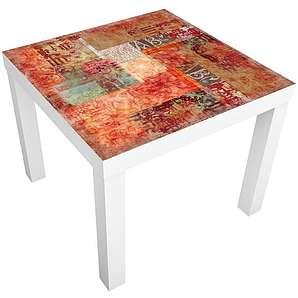Bilderwelten Möbelfolie für IKEA Lack »Schriftmuster«