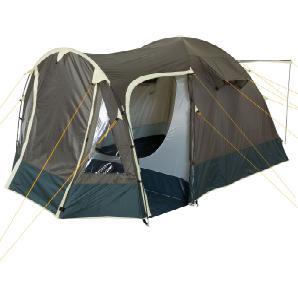 CampFeuer Campingzelt, khaki, 4 Personen Kuppelzelt, 3000 mm Igluzelt