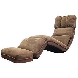 L-R-S-F Lazy Sofa, Einzel-Sofa-Stuhl, Bettkissen, Zurück Sofa Stuhl (kann Gefaltet Werden) ( Farbe : Braun )