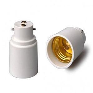 4PCS B22 zu E27 Edison LED Leuchtmittel-Fassung Konverter-Adapter Fassung Extender Halter Energiesparend Lampe