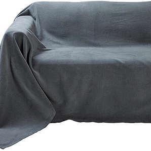 Heine Home home Sofaüberwurf grau ca. 250/270 cm,ca. 250/330 cm,ca. 250/370 cm