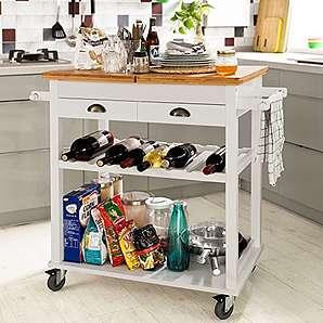 servier k chenwagen in naturfarben online vergleichen m bel 24. Black Bedroom Furniture Sets. Home Design Ideas