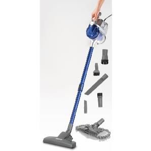 CLEANmaxx Hand-und Stielstaubsauger Multi-Sensation 2in1 blau, Energieeffizienzklasse: A, cleanmaxx