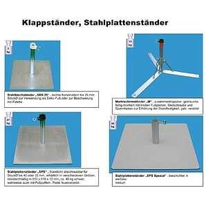 SONNENSCHIRMSTÄNDER - aus 4 mm Ø DEUTSCHEM STAHL - DER STABIELO ® SCHIRMHALTER - STAHLPLATTENSTÄNDER - METALLSTÄNDER für SCHIRMSTÖCKE BIS Ø 55 mm - MADE in GERMANY - HOLLY PRODUKTE STABIELO ® - INNOVATIONEN MADE in GERMANY - holly-sunshade ® - PREISE SO