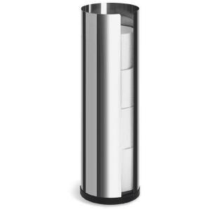 BLOMUS: Toilettenpapierhalter, Edelstahl, H 45,5
