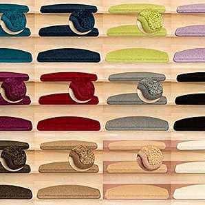 Kettelservice-Metzker® Stufenmatten Pegasus Halbrund | in vielen Set Varianten | 65x24x4cm | Beige 16 Stück