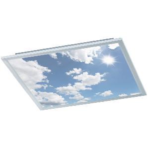 EEK A+, LED-Deckenleuchte Yokote - Acrylglas / Metall - 1-flammig - 60, Wofi