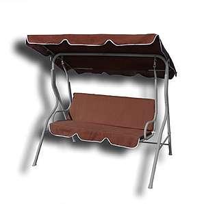 hollywoodschaukeln braun online vergleichen m bel 24. Black Bedroom Furniture Sets. Home Design Ideas