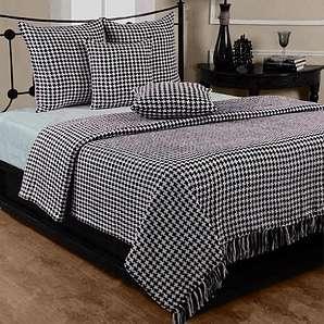 tagesdecken in schwarz online vergleichen m bel 24. Black Bedroom Furniture Sets. Home Design Ideas