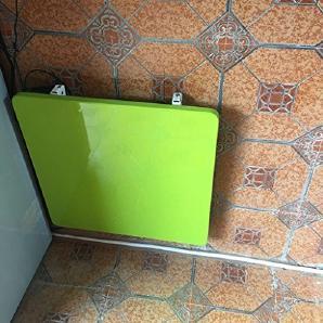 ZXLDP Multifunktionale Rechteckigen Unsichtbaren Esstisch Folding Wand-Tisch Schreibtisch Farbe Größe Optional ( Farbe : Grün , größe : 90cm*60cm*2.5cm )