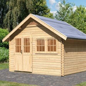Karibu Gartenhaus »Doderic 4«, BxT: 402x342 cm