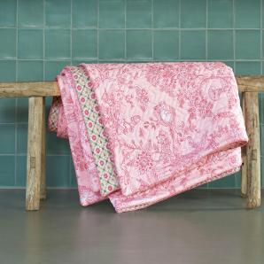 Pip Studio Bettüberwurf »Hide and seek«, 150x200 cm, waschbar, rosa