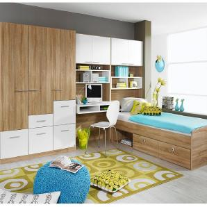 Moderne komplett jugendzimmer bei moebel24 - Jugendzimmer cody ...