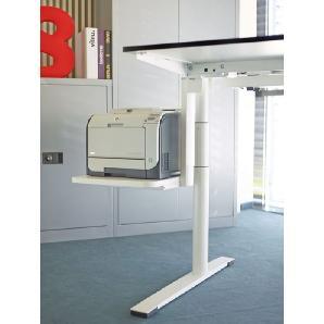 Stage Gerätetablar Weiß, Designer Professor Klaus Michel, 50x45x60 cm